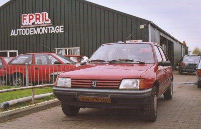 De oude auto