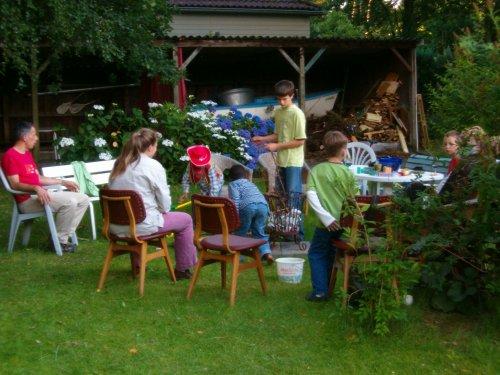 Foto van het tuinfeest Glanerbrug
