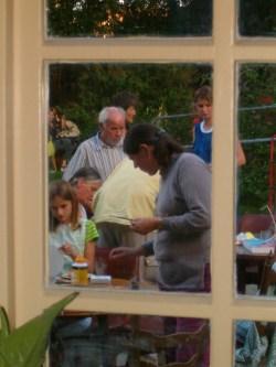 Foto van het tuinfeest in Glanerbrug