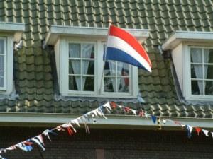 De vlag uit voor dochter Linde Catharine
