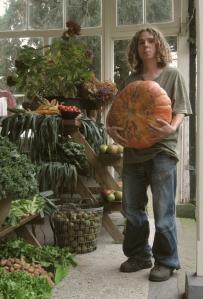 herman toont pompoen