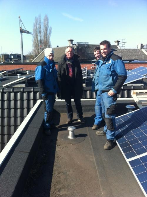 eindelijk zonne-energie!